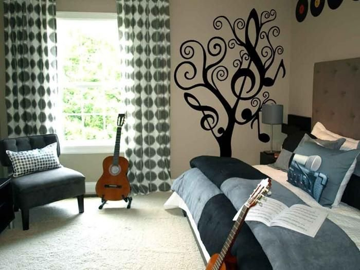 Best Music Themed T**N Room 19 Photos Of The Girls Room With Pictures