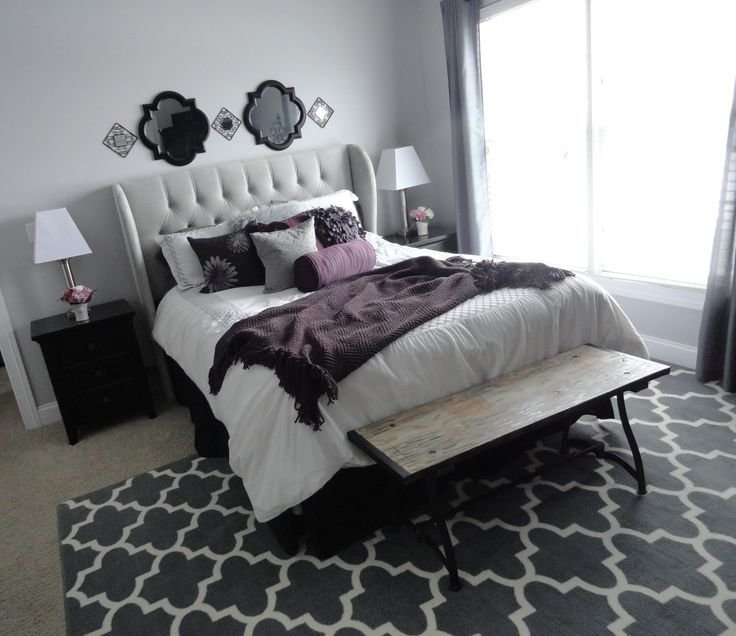 Best 1000 Ideas About Purple Grey Bedrooms On Pinterest With Pictures