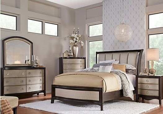 Best Shop For A Le Claire 5 Pc King Sleigh Bedroom At Rooms To Go Find Bedroom Sets That Will Look With Pictures