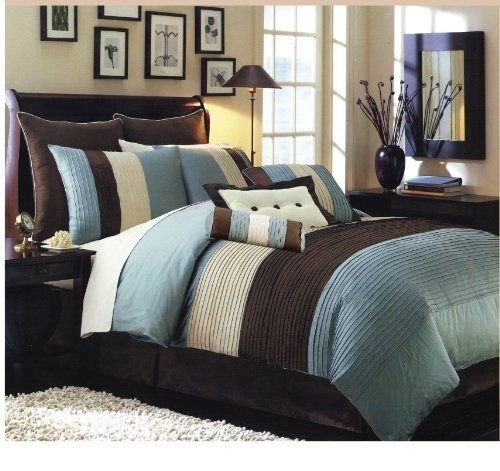 Best Teal And Brown Bedroom I Also Wanted To Show You A With Pictures