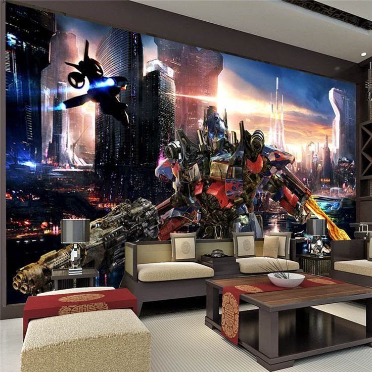 Best Transformers Optimus Prime Wallpaper Movies Wall Mural 3D With Pictures