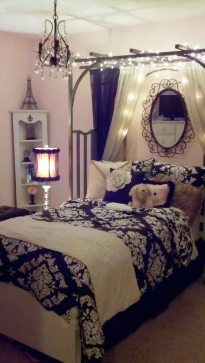 Best Cool Ideas For Paris Themed Bedroom For T**N Girls With Pictures