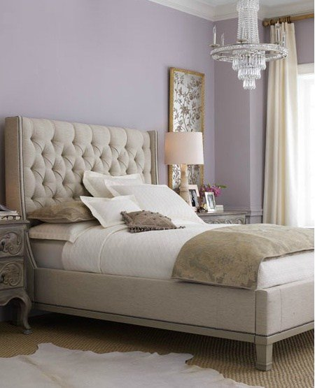 Best Guest Room Lavender And Creamy Taupe Gray Color Scheme With Pictures