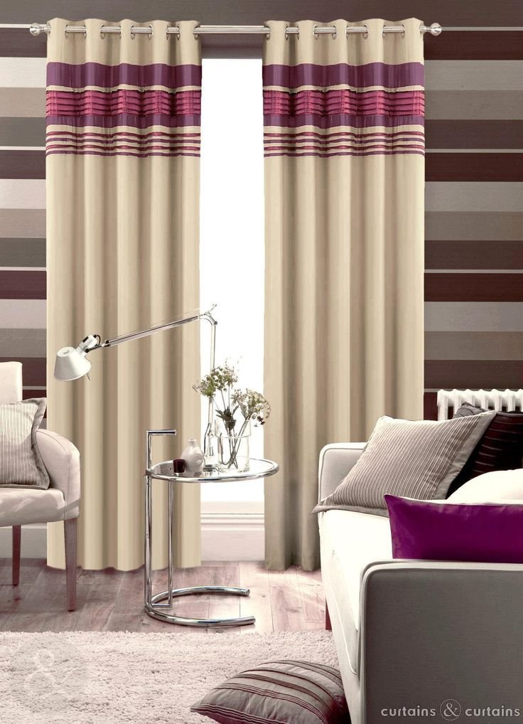 Best Next Aubergine Purple Readymade Eyelet Curtain Curtains With Pictures