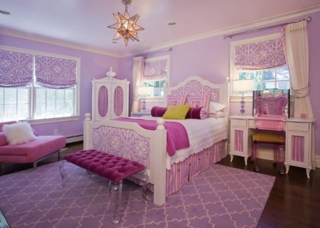 Best Pink White Purple Girls Room Home Ideas Pinterest With Pictures