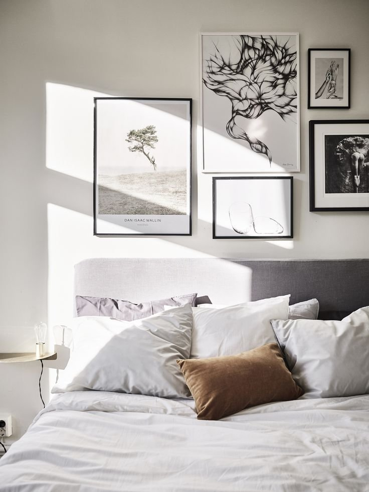 Best 25 Bedroom Gallery Walls Ideas On Pinterest With Pictures