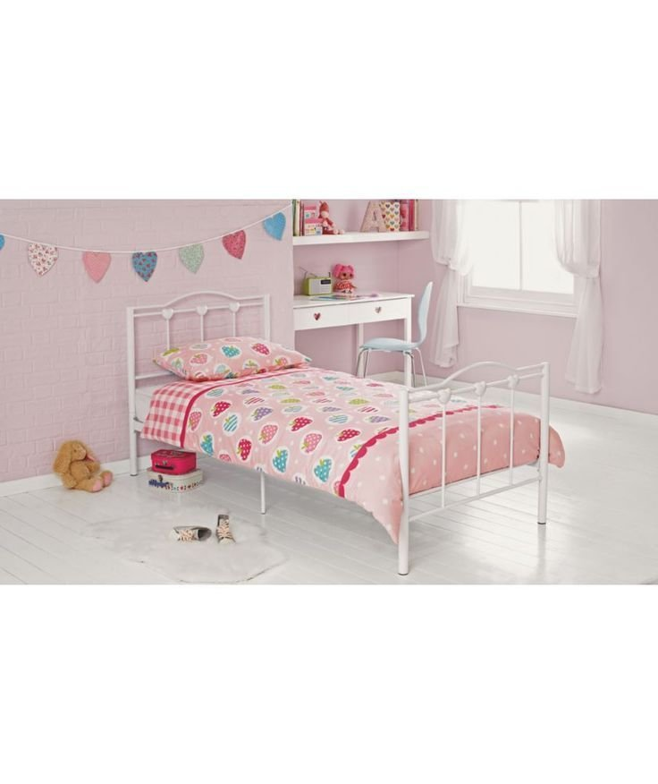 Best Buy Princess Single Bed Frame White At Argos Co Uk With Pictures