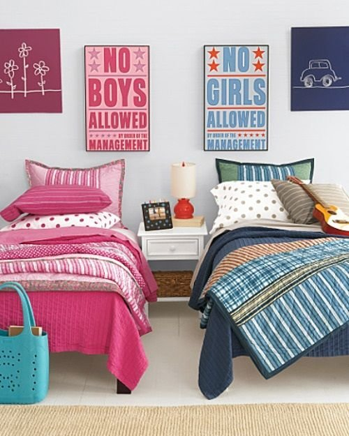 Best Boy And Girl Shared Bedroom Decorating Ideas Kids With Pictures