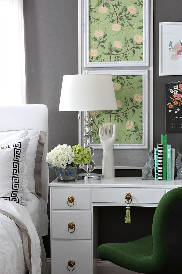 Best Bedroom Changes With A Desk Blogger Home Projects We With Pictures