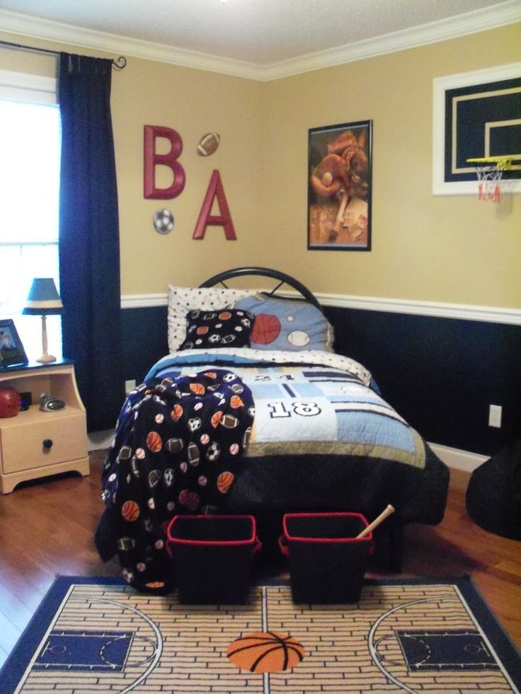 Best 25 Sports Themed Bedrooms Ideas On Pinterest With Pictures