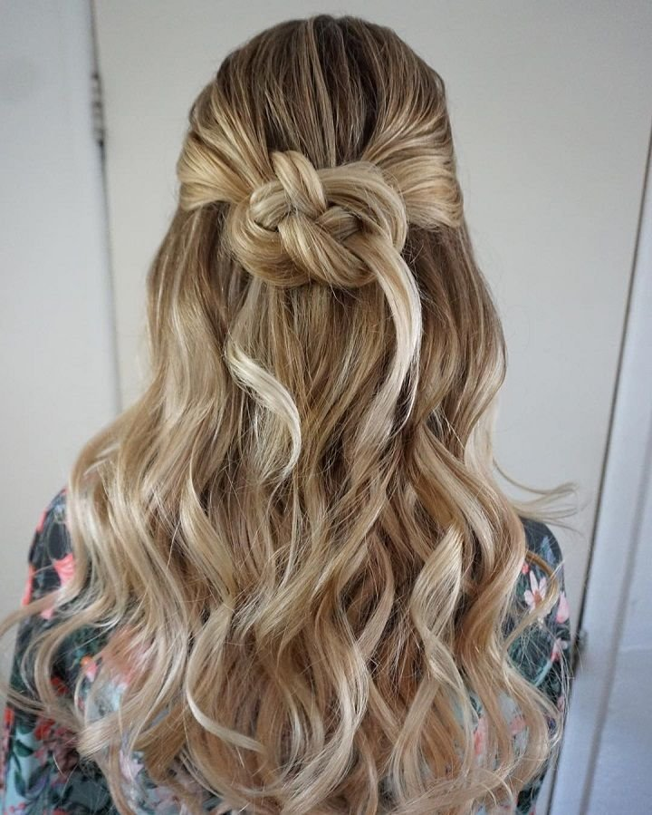 Free 25 Best Ideas About Partial Updo On Pinterest Half Up Wallpaper