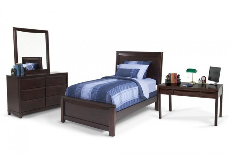 Best Greenville 7 Piece Twin Bedroom Set With Desk Kids With Pictures