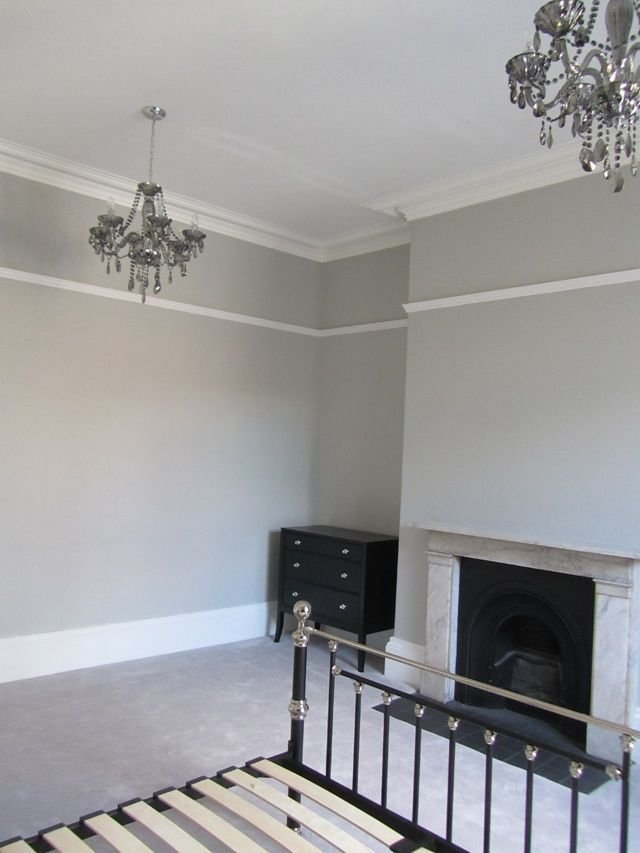 Best Examle Of The Panel Moulding Placed High Pavillion Grey By With Pictures