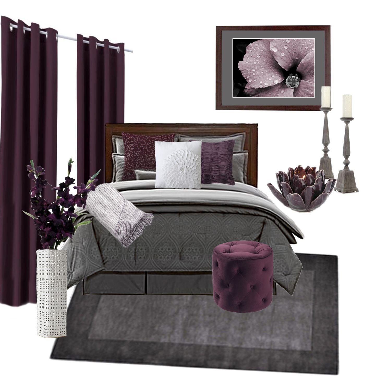 Best 25 Plum Bedding Ideas On Pinterest Plum Bedroom Purple Bedroom Walls And Purple Bedroom With Pictures