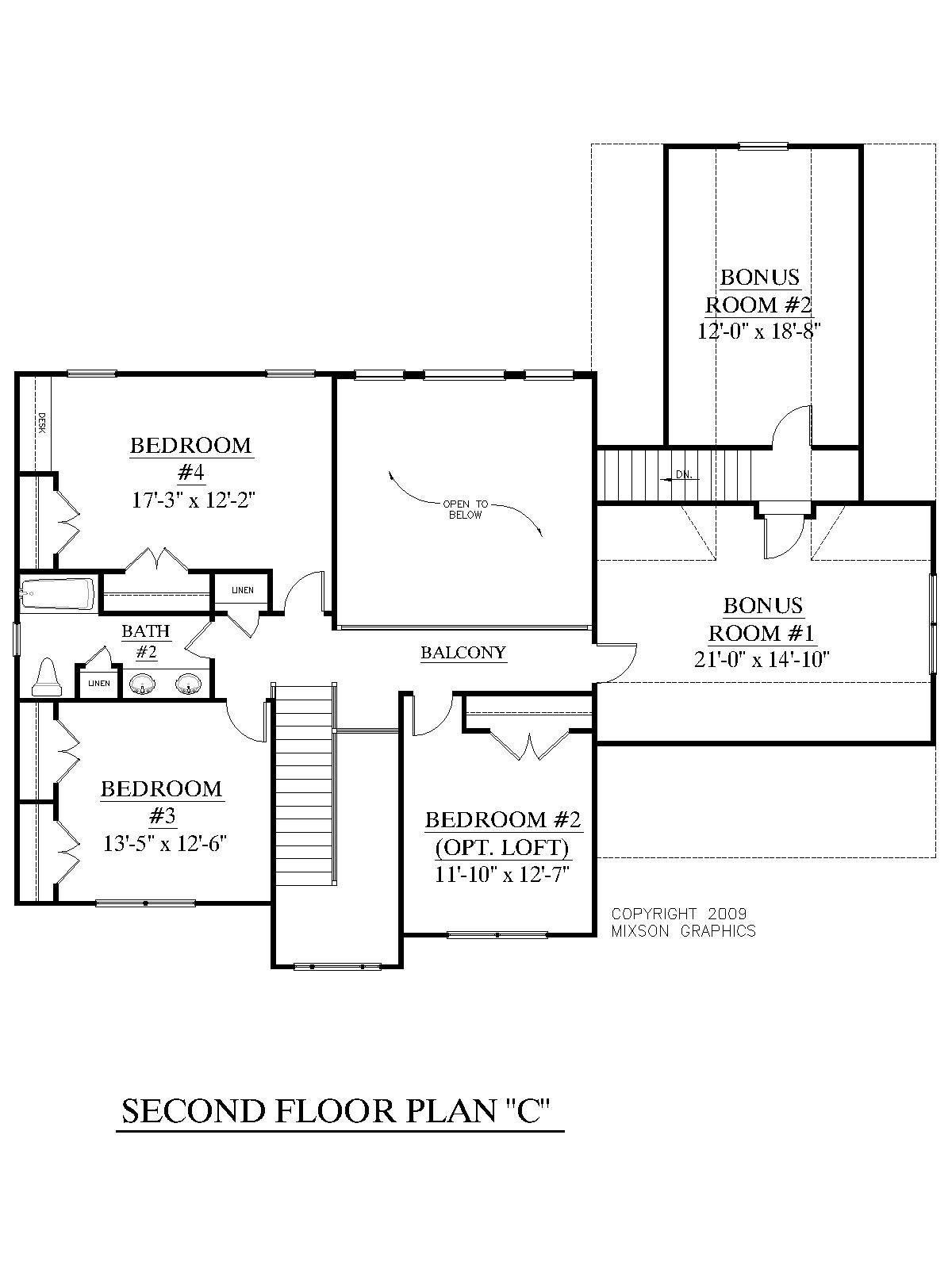 Best House Plan 2657 C Longcreek C Second Floor Traditional With Pictures