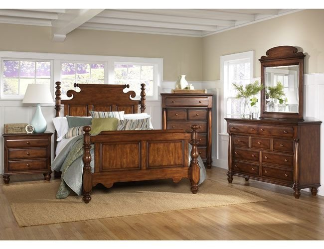 Best Wooden Bedroom In American Colonial Style Dream House With Pictures