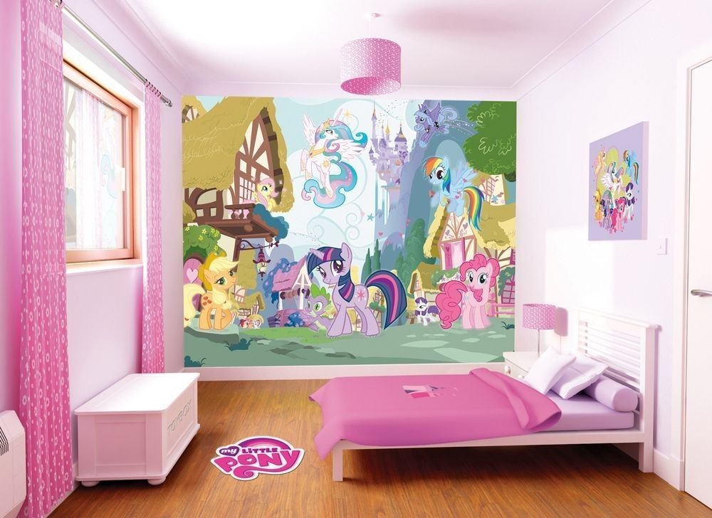 Best My Little Pony Room Makeover My Little Pony Walltastic With Pictures