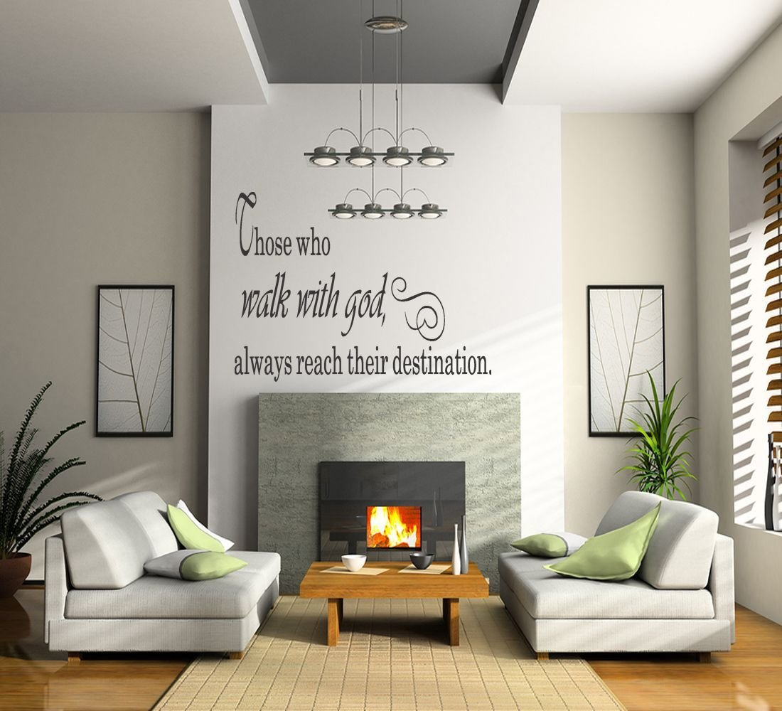 Best Details About Walk With G*D Quote Vinyl Wall Decal Sticker With Pictures