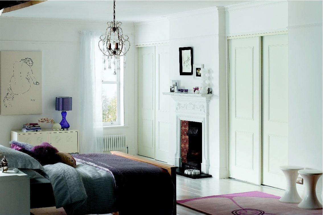 Best Fitted Wardrobes Around Chimney Br**St Bedroom With Pictures