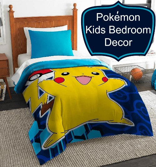 Best Pokemon Bedding Cool Kids Want Pokémon Bedrooms And Room With Pictures