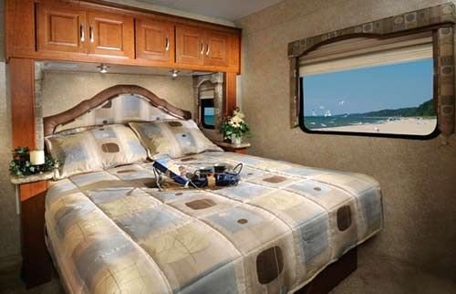 Best Four Winds Class C Motorhome Interior Bedroom Our Motor Home Pinterest With Pictures
