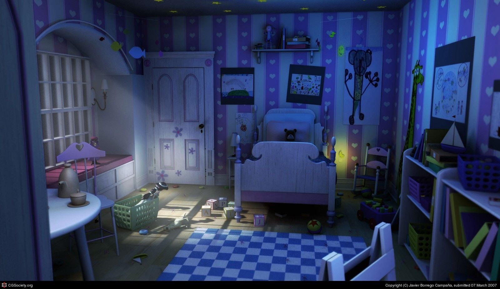 Best The Boo´s Room By Javier Borrego Campaña 3D Cgsociety With Pictures