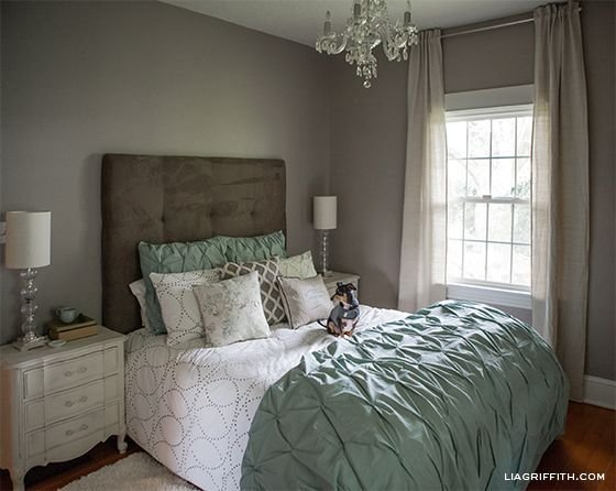 Best Eclectic Home Tour Lia Griffith Mint Green Bedrooms With Pictures
