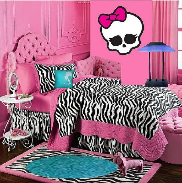 Best Monster High Doll Wallpaper Art Sricker Mural Handmade With Pictures
