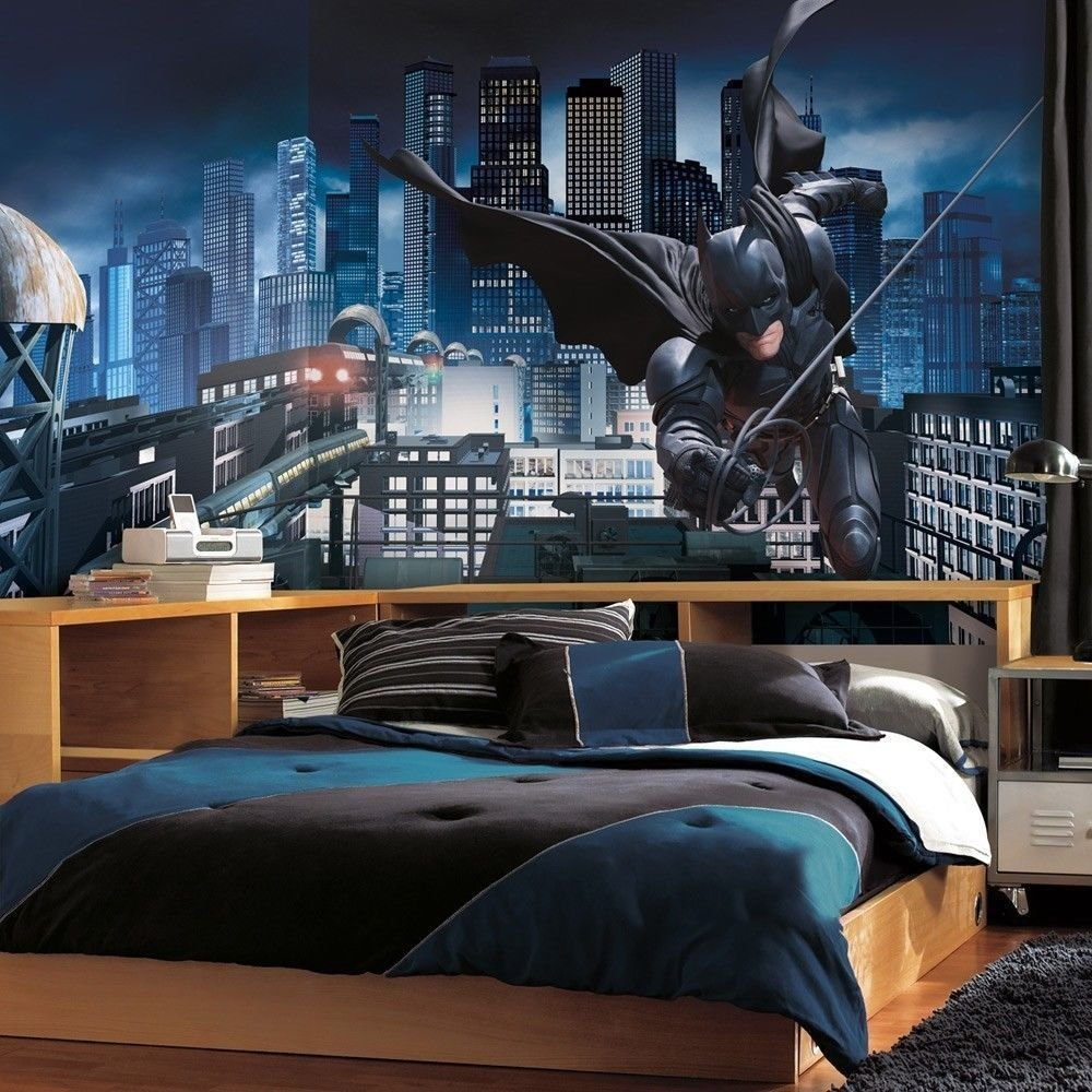 Best Kids Bedroom Using Batman Bedroom And Decorations Also With Pictures
