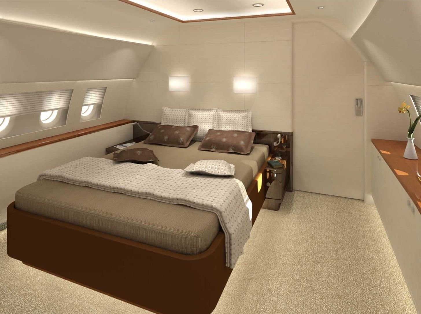 Best Private Jet Interior Design For Your Flying Mobile Home With Pictures