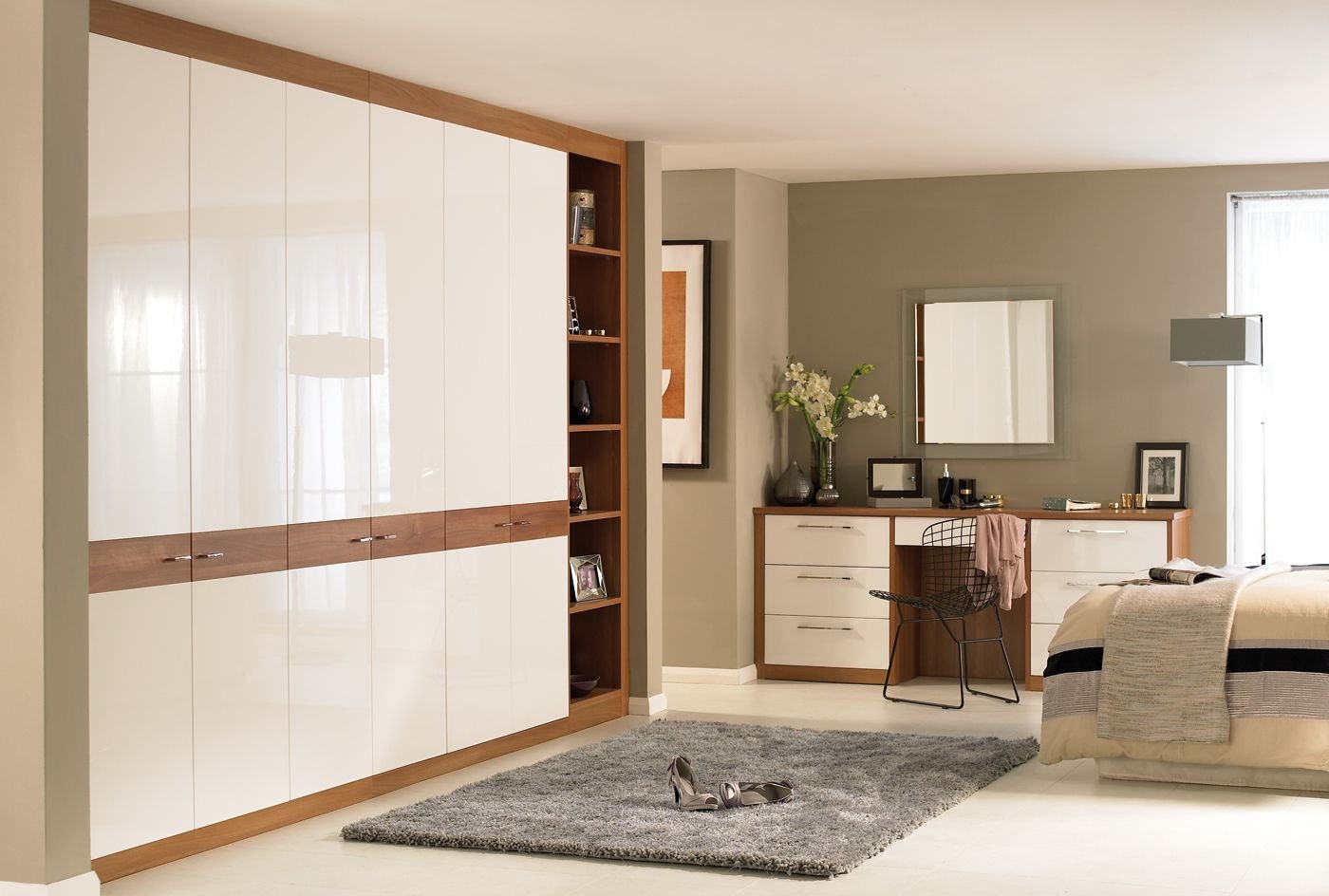 Best Horizon White Walnut Bedroom Furniture Wardrobes Http Www Sharps Co Uk Fitted Bedrooms With Pictures