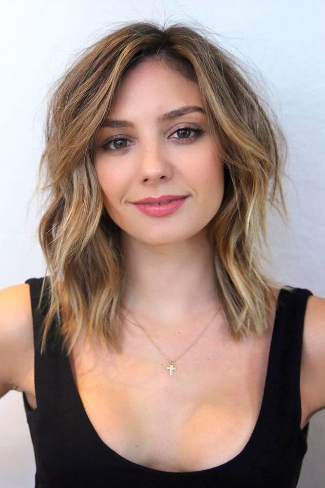 Free The Most Flattering 12 Haircuts For Square Faces Square Wallpaper