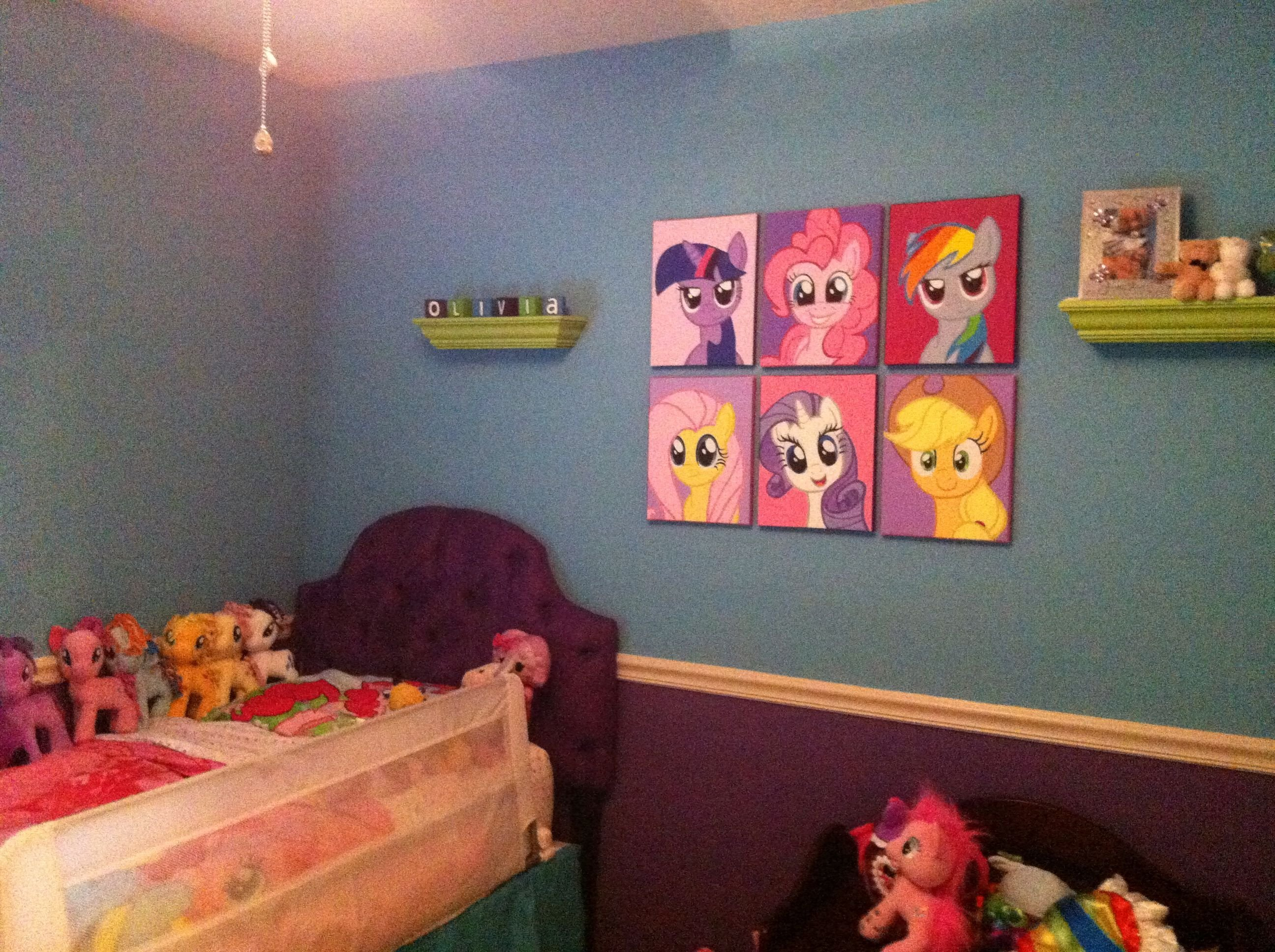 Best Olivia S Big Girl My Little Pony Room Including The With Pictures