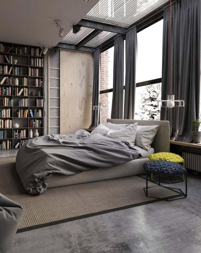 Best Man Cave City Life Urban Men Bedroom City With Pictures