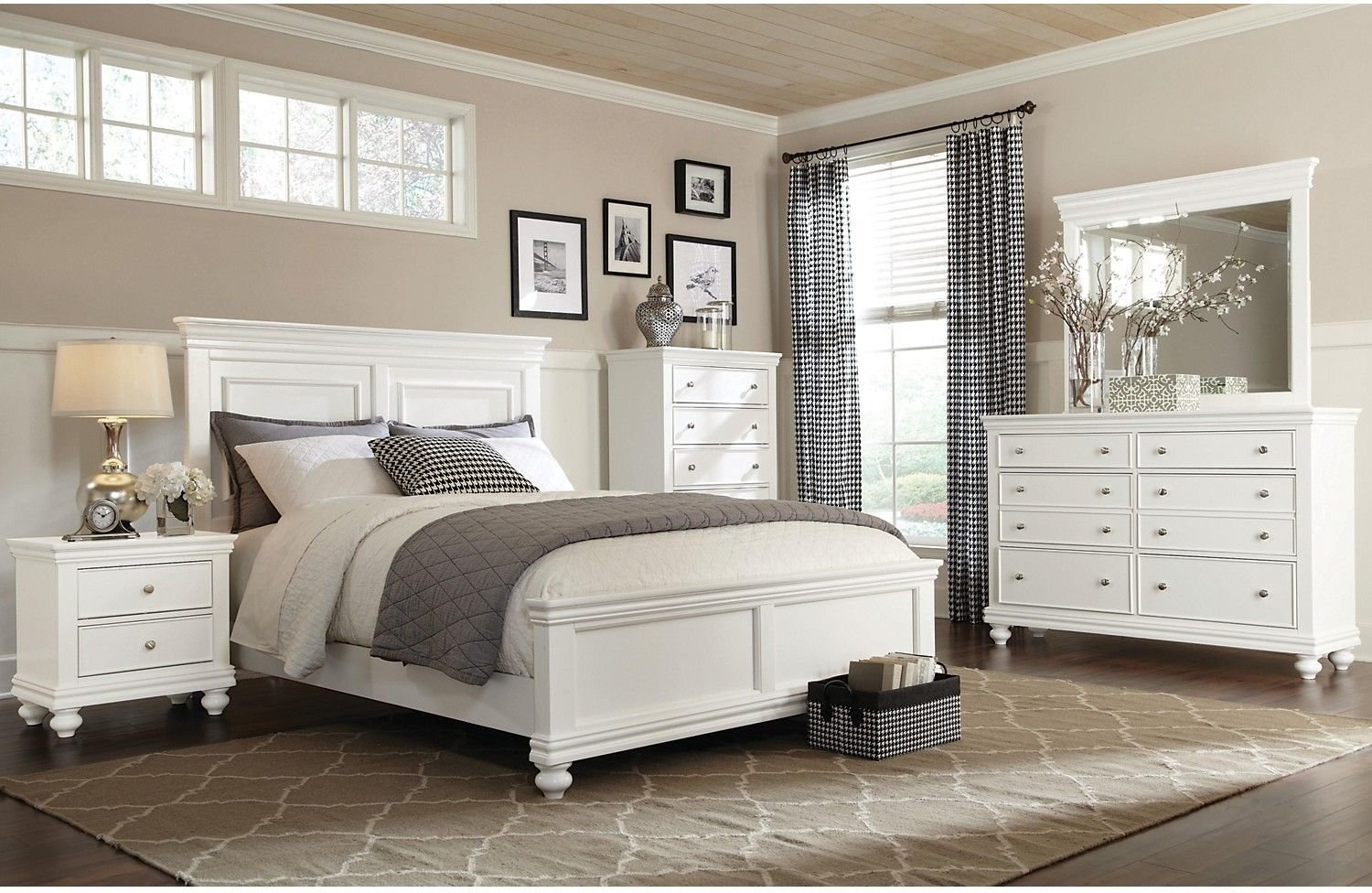 Best Bridgeport 6 Piece Queen Bedroom Set – White Queen With Pictures