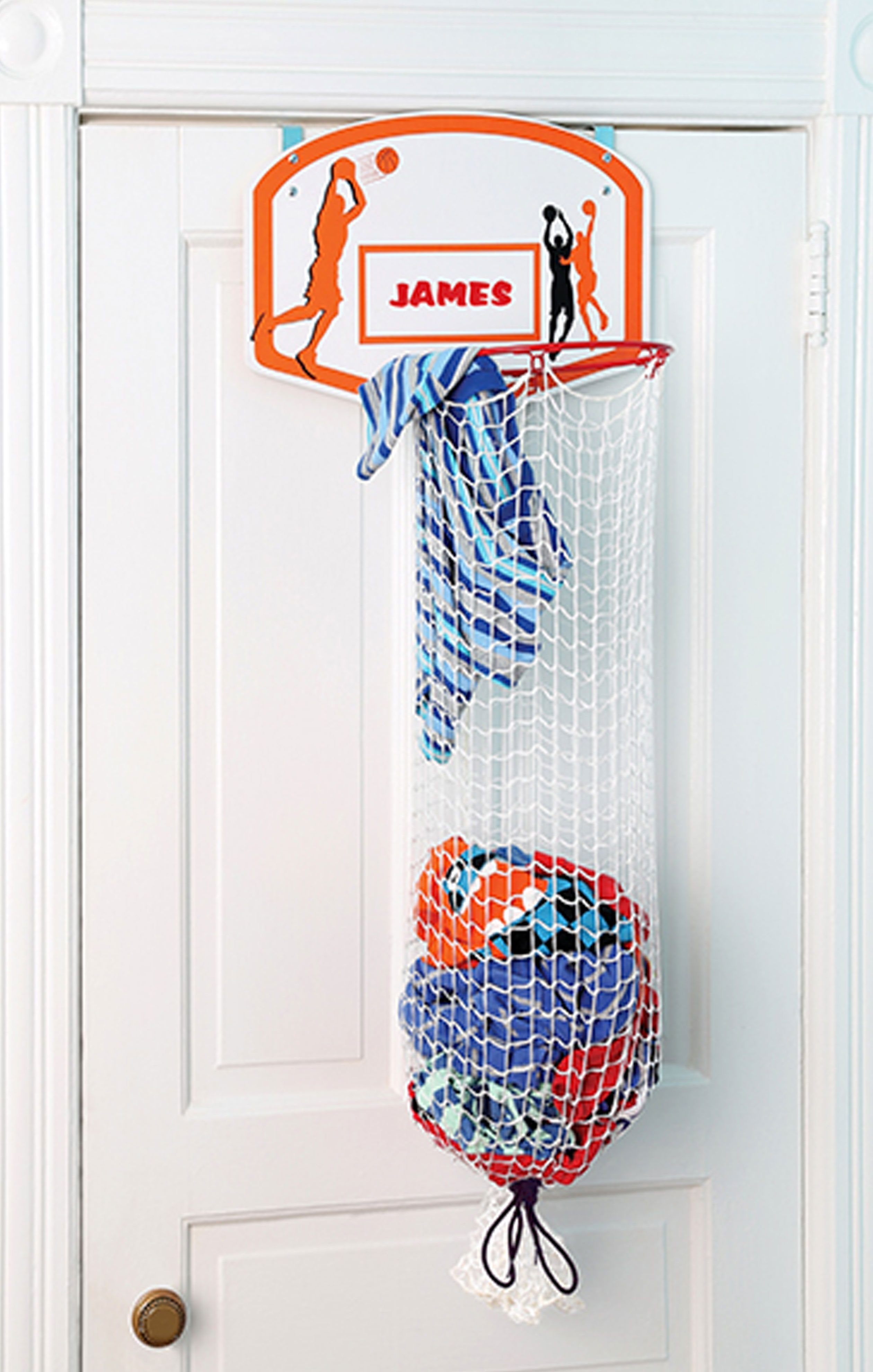 Best This Basketball Hoop Clothes Hamper Lets Kids Pretend They With Pictures