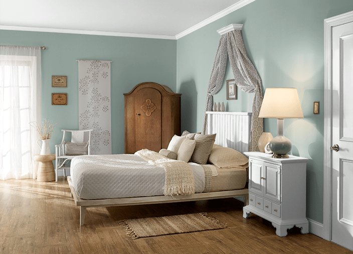 Best Behr Aged Jade Bedroom Paint Color Mom Dad House Ideas Pinterest Discover More Ideas With Pictures