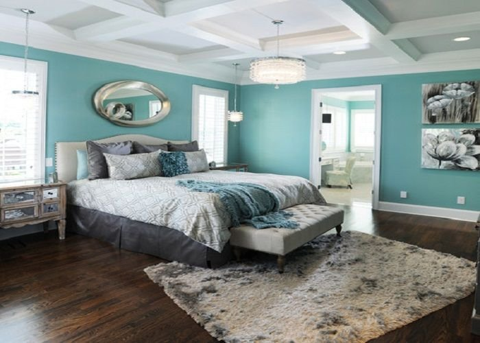 Best Cool Drizzle Blue Sherwin Williams Contemporary Master Bedroom Color Paint Ideas For The Home With Pictures