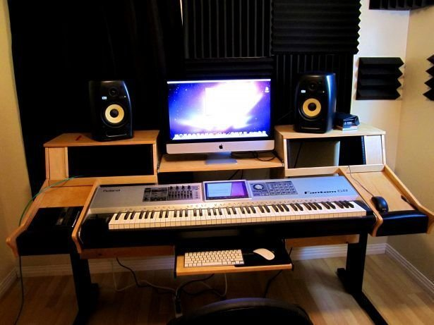 Best Bedroom Licious Home Studio Desk Design Ideas Simple With Pictures