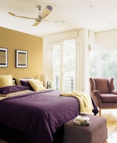 Best Purple And Yellow Bedroom Colors For The Home With Pictures