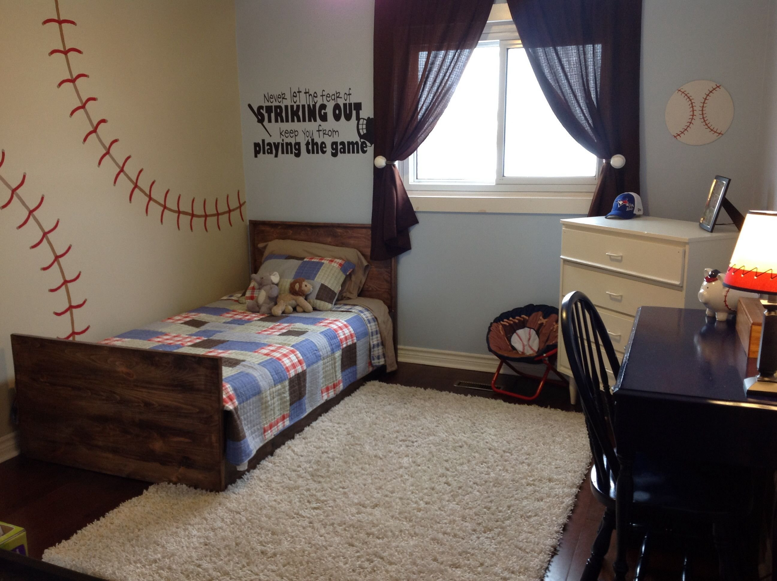 Best Toddler Baseball Room For The Home Pinterest Room With Pictures