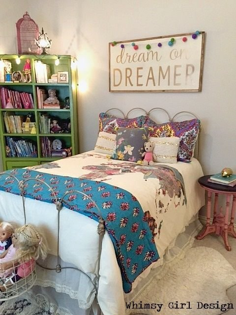 Best Whimsy Girl Design Whimsical Girl S Bedroom Reveal With Pictures