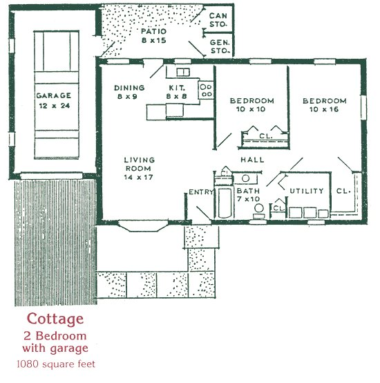 Best 2 Bedroom 2 Bath Cottage Plans Cottage Homes St Anne With Pictures