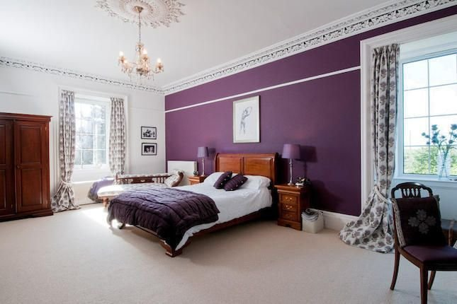 Best Purple Feature Wall Bedroom Our Dream Home Ideas With Pictures