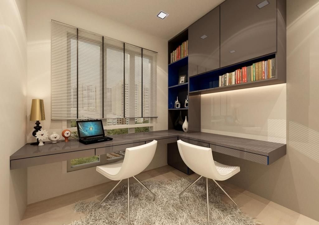 Best Modern Bedroom Interior Design With Gray Glossy Study With Pictures