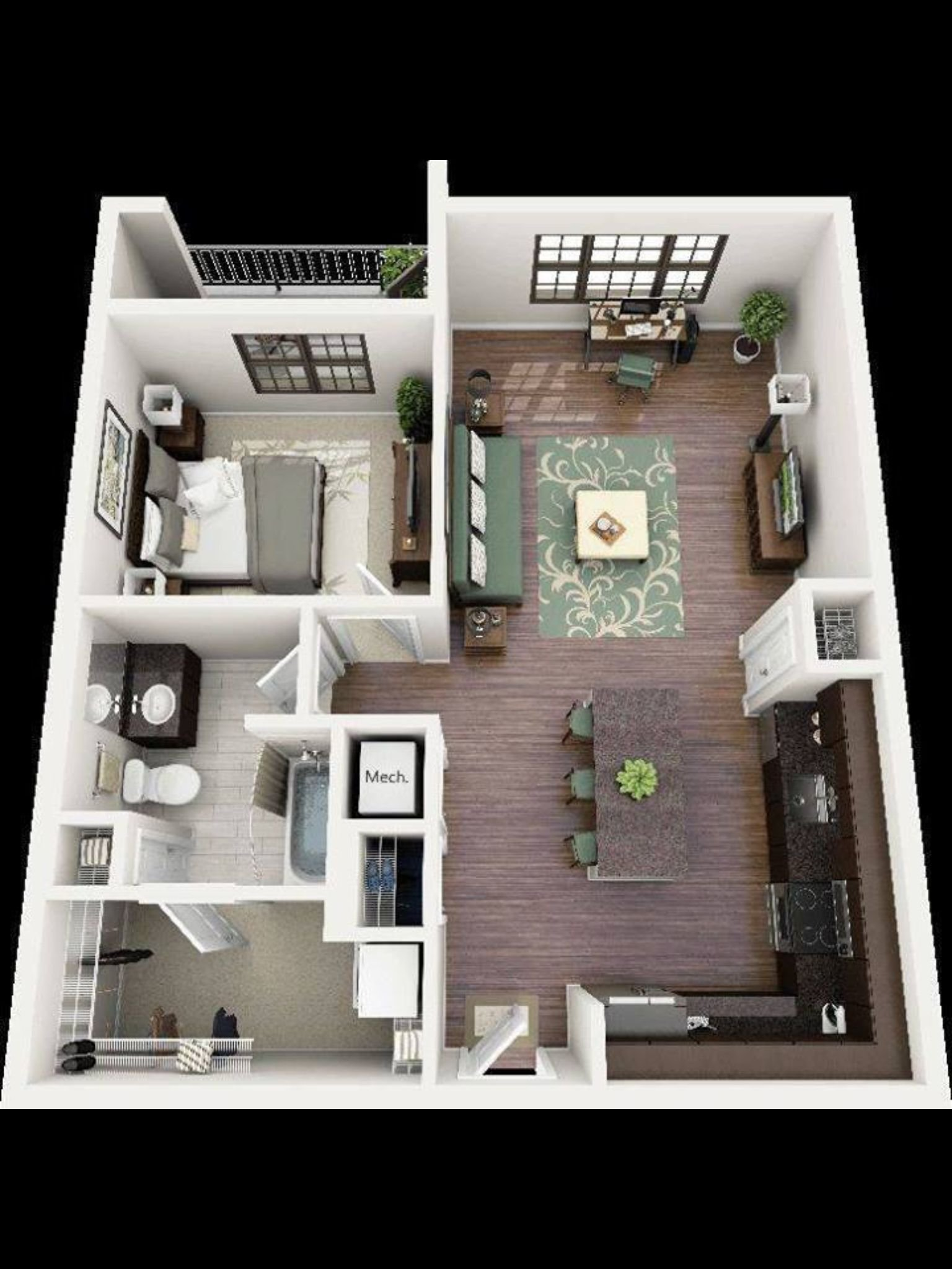Best Very Nice And Comfortable Planning Of The Apartment With Pictures