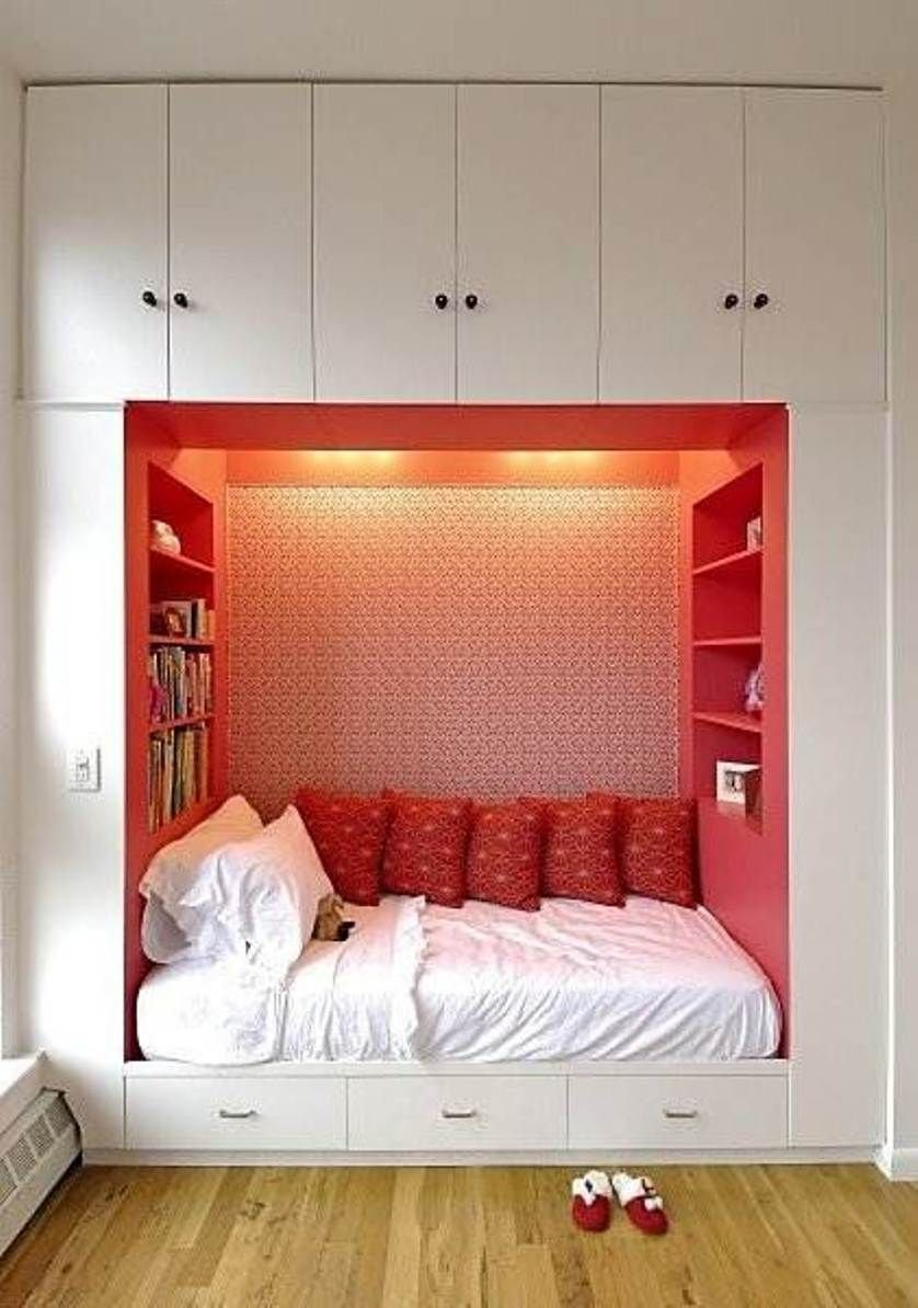 Best Awesome Storage Ideas For Small Bedrooms Space Saving With Pictures