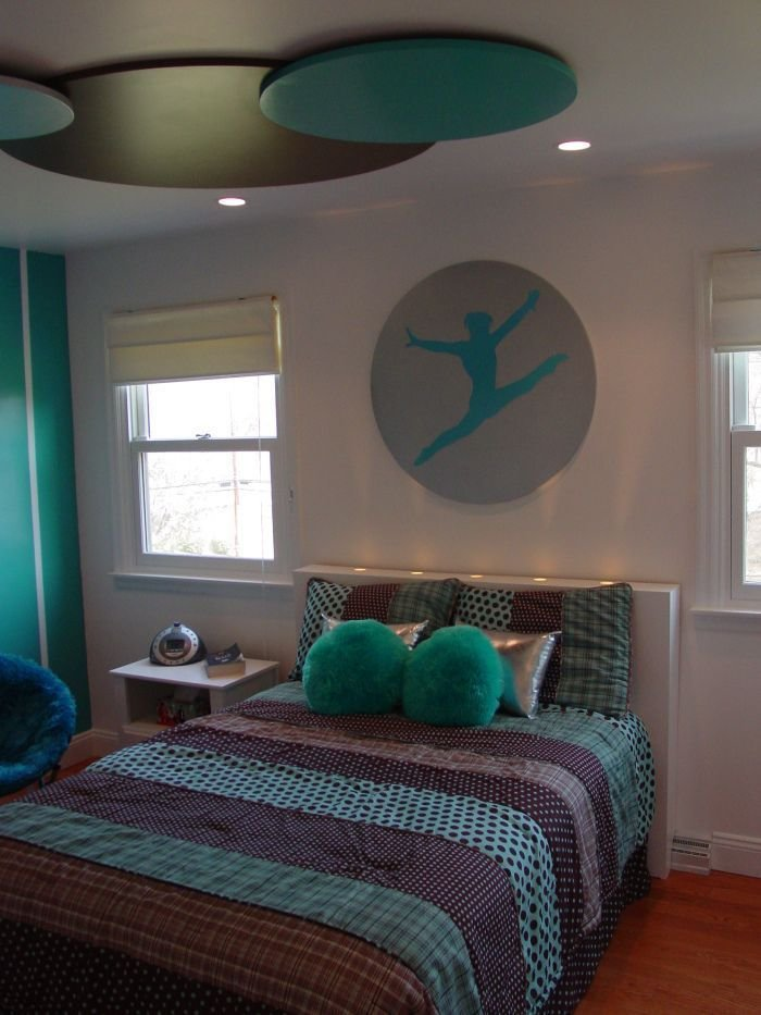 Best Gymnast Room Ideas Makeover Of A Young Gymnast's Bedroom With Pictures