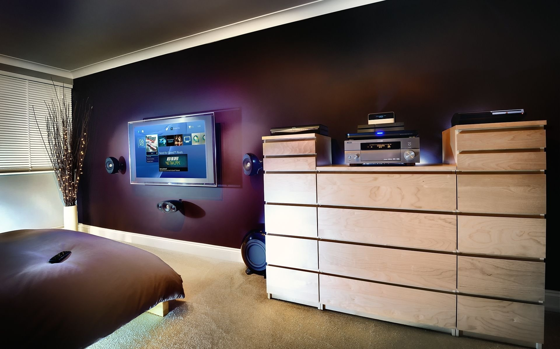 Best Bedroom Setup Ps4 Ps3 Decorating Pinterest With Pictures