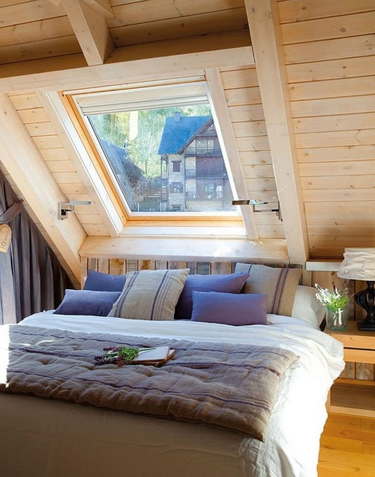 Best Attic Bedroom Interior Design Small Cottage Sweet Life 08 With Pictures